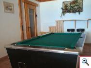 Spielzimmer Brandnerhof - Billiardtisch
