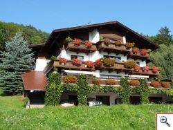 Sommer-Ansicht Brandnerhof in Telfs
